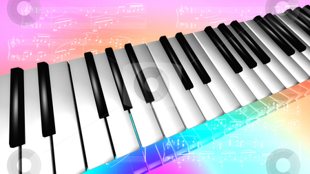 Piano stock photo,  by Rodolfo Clix