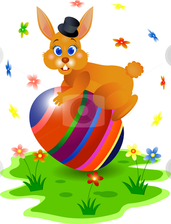Easter bunny stock photo, Easter bunny illustration by Surya Zaidan