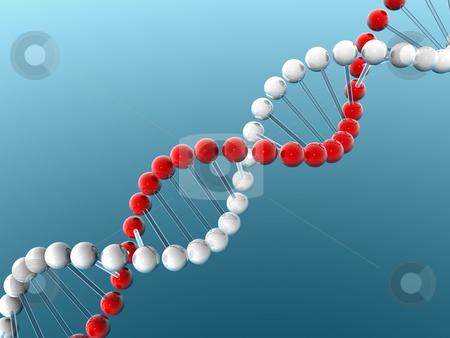 DNA stock photo,  by Rodolfo Clix