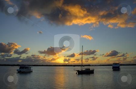 Old Ketch Sunrise stock photo,  by Brett Mulcahy
