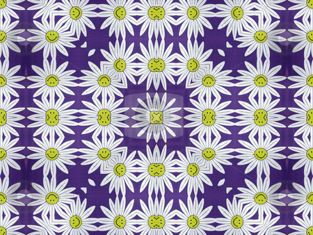 Spring Sprung Smile stock photo, Spring Sprung  Smile- Smiling Flower Motif, Background Pattern, Texture, by Dazz Lee Photography
