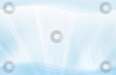Blue streaks and waves background stock photo, CG background featuring blue streaks and waves by iodrakon