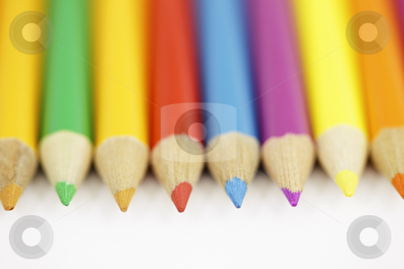 Colored Pencil Set stock photo, Colored Pencil Set by Bryan Mullennix