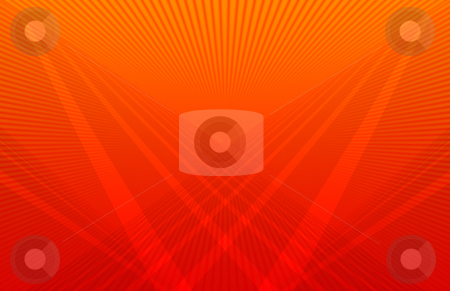Futuristic Orange Background stock photo, Computer generated background pattern orange colors by iodrakon