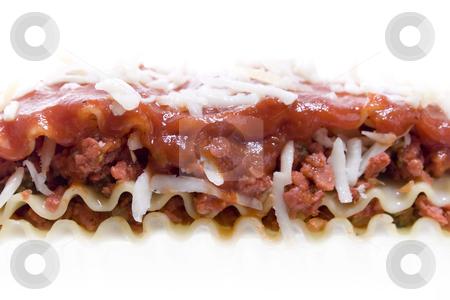 High key Close up shot of Veggie Lasagna stock photo, High key Close up shot of Veggie Lasagna by iodrakon