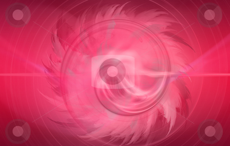 Abstract Flower stock photo, Digitally generated pink flower abstract, based on fractal patterns by iodrakon