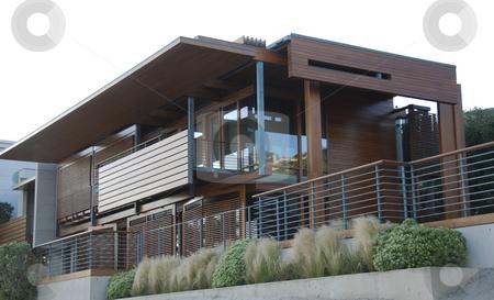 Modern house In Malibu stock photo,  by Didier Tais