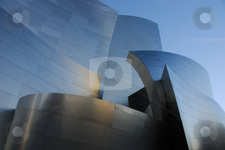 Disney Concert Hall stock photo,  by Didier Tais