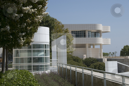 Getty center stock photo,  by Didier Tais