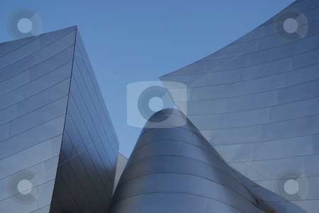 Disney Concert Hall stock photo,  by Didier Tais