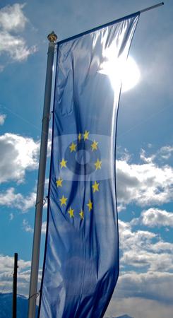 European flag stock photo,  by Piero Biondo