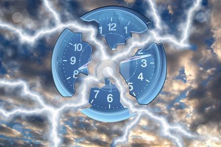 Break the time stock photo,  by Piero Biondo