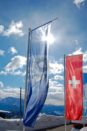 European flag stock photo,  by Piero Biondo