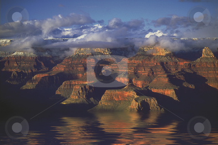 Grand Canyon Flood stock photo, Grand Canyon Flooded by Miguel Dominguez