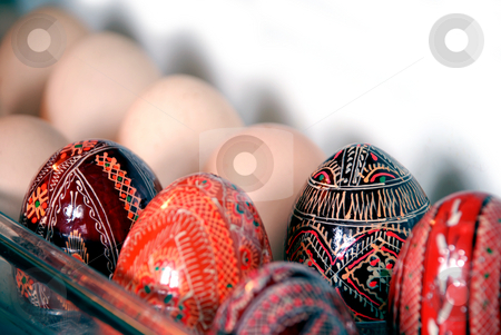 Easter eggs stock photo, Easter is comming by Alexey Rumyantsev