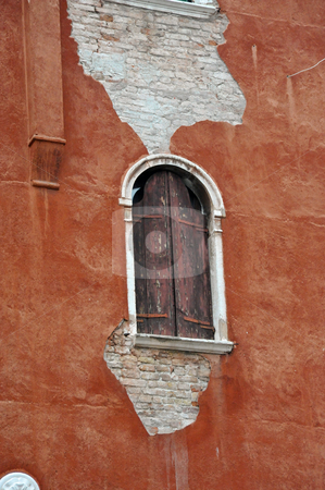 Shuttered window stock photo, Shuttered window in Venice, Italy by Jaime Pharr
