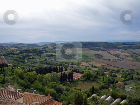 Tuscan vista  stock photo, Tuscan vista by Jaime Pharr