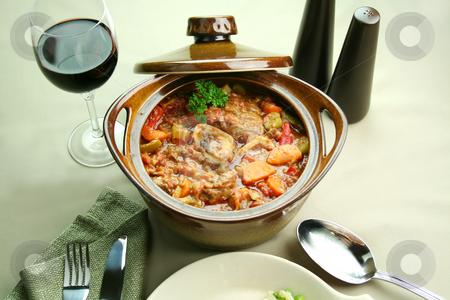 Osso Bucco stock photo, Delicious slow roasted osso bucco ready to serve. by Brett Mulcahy