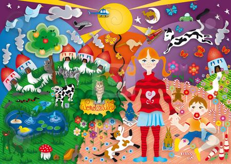 Wonderville stock photo, Illustration by Natacha Audier