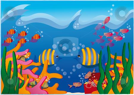 Fish stock photo, Illustration by Natacha Audier