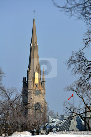 Church stock photo, Church in Quebec City. by Fernando Barozza