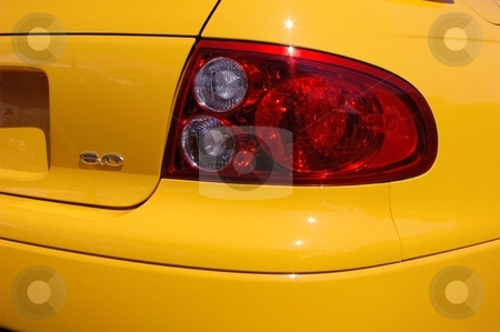 2006 GTO Rear Tail Light stock photo, This is the rebirth of an American Classic. by Joe Shortridge