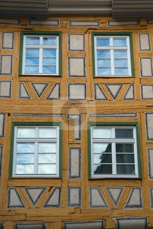 Fachwerkhaus in Esslingen am Neckar - Half timbered house in Esslingen am Neckar, Germany stock photo, Esslingen am Neckar  ist eine Stadt etwa 10 Kilometer s?d?stlich der Stadtmitte Stuttgarts am Neckar. - Esslingen am Neckar is a city in the Stuttgart Region of Baden-W?rttemberg in southern Germany, capital of the District of Esslingen as well as the largest city in the district. by Wolfgang Heidasch