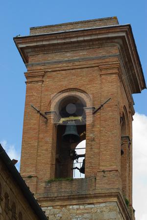 Glockenturm in der Toskana - Bell tower in tuscany stock photo, Glockenturm in der Toskana - Bell tower in tuscany by Wolfgang Heidasch