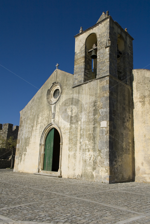 Medieval church stock photo, Old medieval church in Monte-mor Velho - Portugal by Paulo Resende