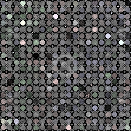 Grunge grey retro pattern stock photo, Texture of many dots in pastel grey colors by Wino Evertz