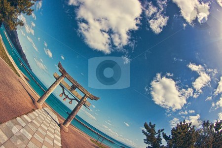 Torii stock photo,  by Tomo Photography