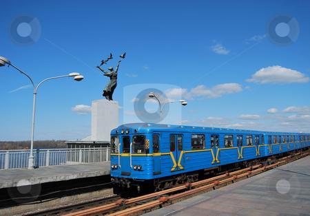 Subway ground station stock photo,  by Leyla Akhundova