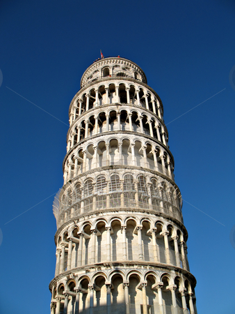 Torre di Pisa stock photo, A view of the tower of Pisa, Italy by Roberto Marinello