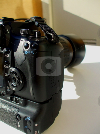 Digital Camera stock photo,  by Michael Felix