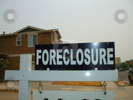 Foreclosure Sign stock photo,  by Michael Felix