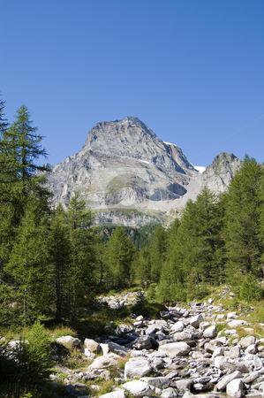 Alpe Veglia and monte Leone stock photo, Alpe Veglia italian natural park and Monte Leone in background, Piemonte, Italy by Roberto Marinello