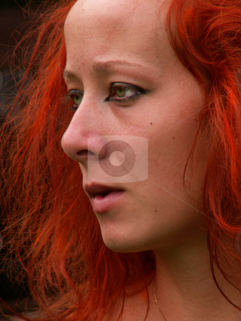 Young woman stock photo,  by Sarka