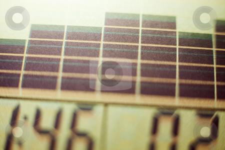Screen of exercise equipment stock photo, Screen of exercise equipment, close-up by Bryan Mullennix