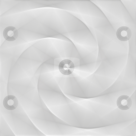 White folded swirl stock photo, 3d paper texture of fold blur rings in white by Wino Evertz