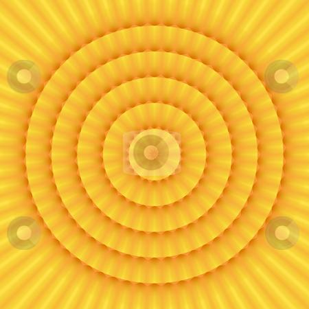 Sun mandala pattern stock photo, Texture of mandala like sun with soft rays by Wino Evertz