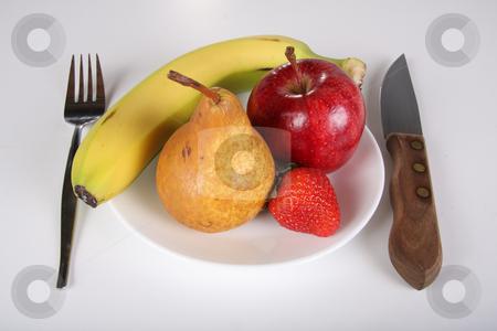 Fruit diet stock photo, Conceptual healthy fruit diet by R Deron
