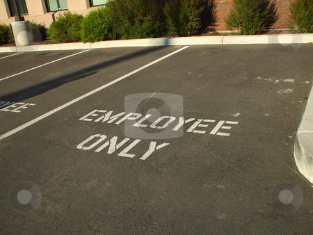 Parking Spaces stock photo,  by Michael Felix