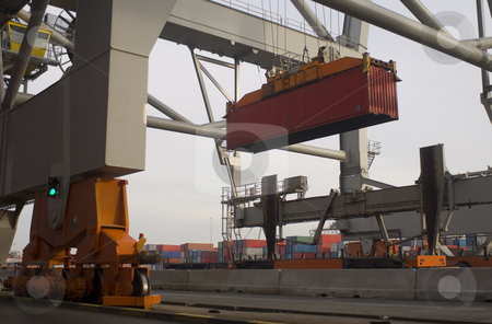 Container terminal stock photo,  by Corepics VOF