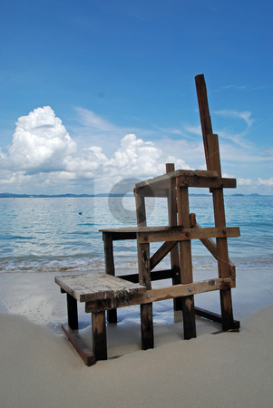 Ladder stock photo, Pulau Kapas by Norazshahir Razali