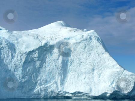 Large Iceberg 1 stock photo, Large iceberg in the sunshine, Greenland coast by Helen Shorey