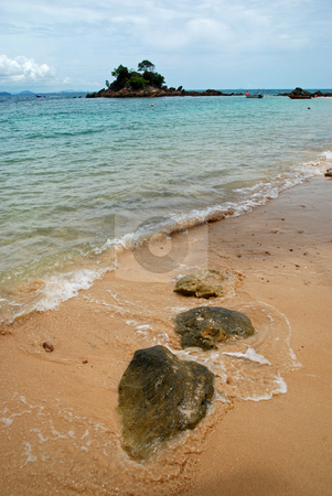 Three Rocks stock photo,  by Norazshahir Razali