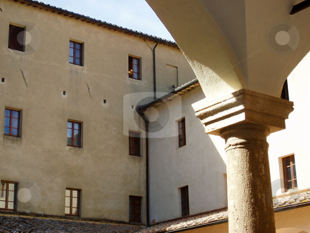 Tuscan building stock photo, Tuscan building and post by Jaime Pharr