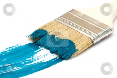 Paint brush stock photo, Paint brush by Andrey Butenko