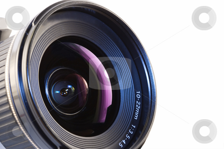 Camera lens stock photo, A close-up of a camera lens by Steve Mcsweeny