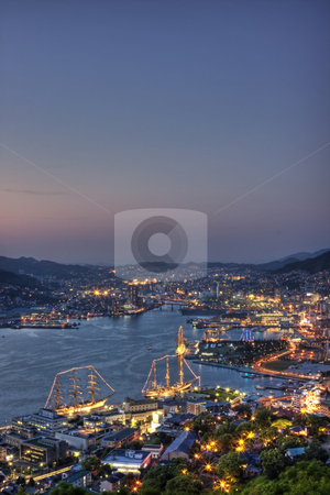 Nagasaki Sailboats Festival stock photo,  by Tomo Photography